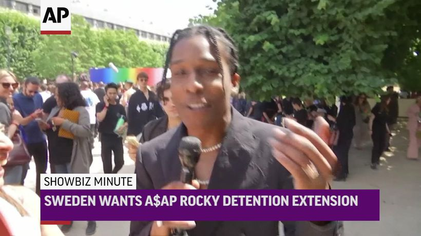 ShowBiz Minute: A$AP Rocky, Cruise, Landecker