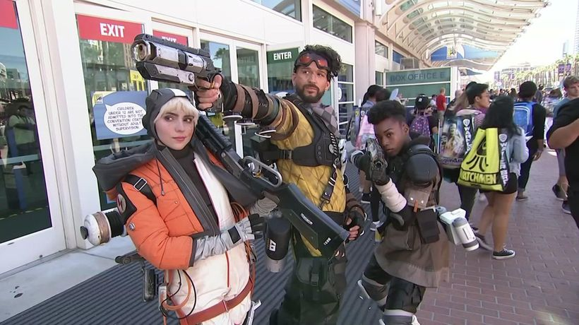 Costumes galore at Comic-Con