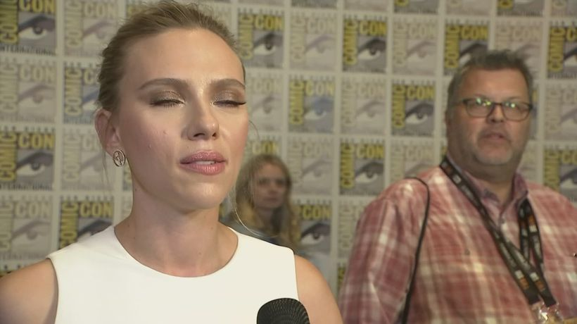 Scarlett Johansson's 'wonderful year'