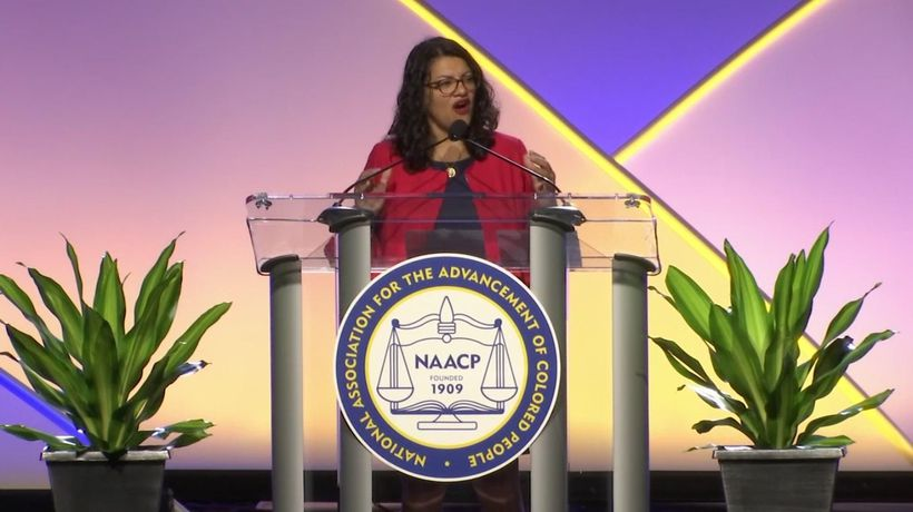 Tlaib to NAACP attendees: You're all 'the squad'