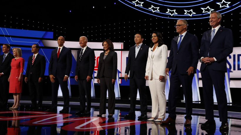 AP Debate Analysis: Big night for young candidates