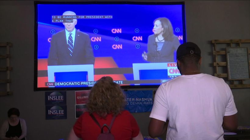 Democrats watch debates, many still deciding