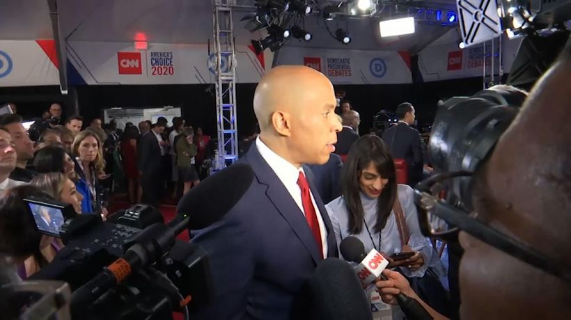 Candidates continue Biden criticism after debate