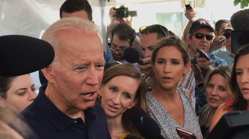 Biden: Congress must deal with assault weapons