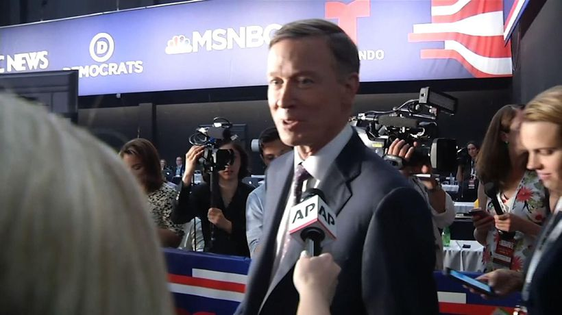AP source: John Hickenlooper to end 2020 bid