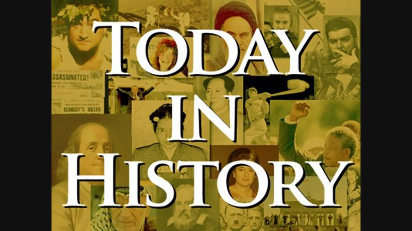 Today in History for August 24th