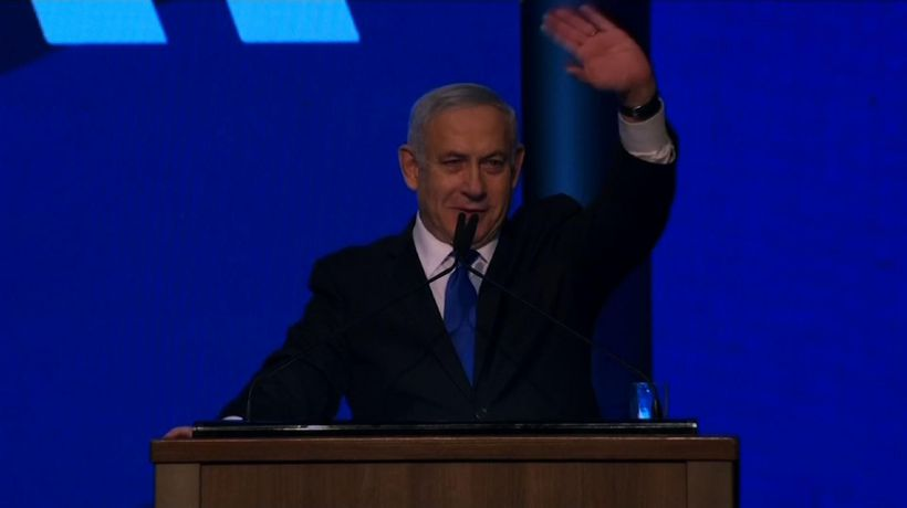 Israeli camps deadlocked after repeat election