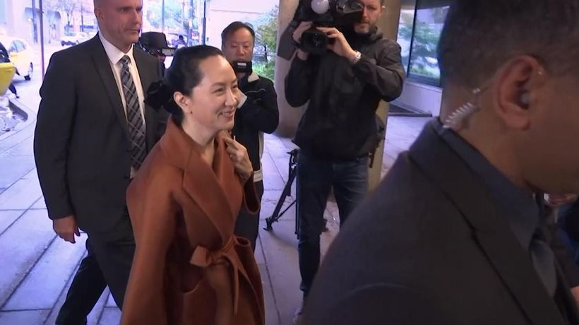 Huawei executive appears at Canadian hearing