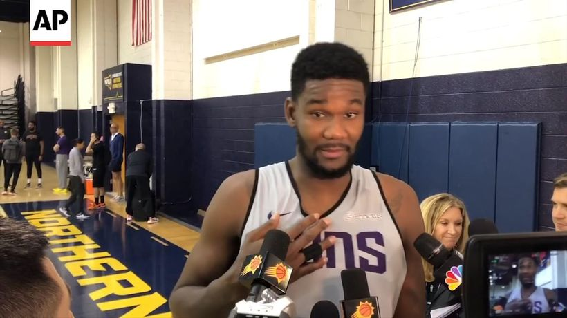 Suns' Ayton shows improvement in sophomore year