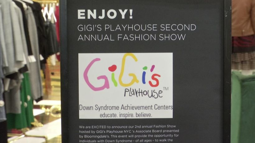 'Poppin'' fashion show for Gigi's Playhouse NYC