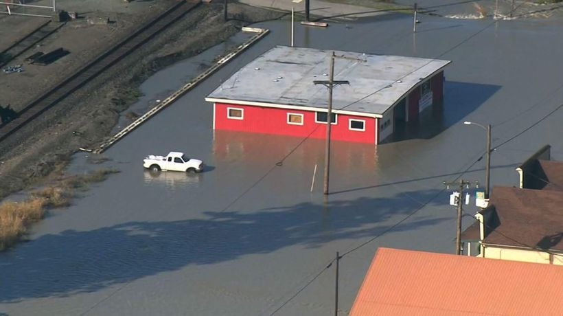 Floods receding in western Washington state