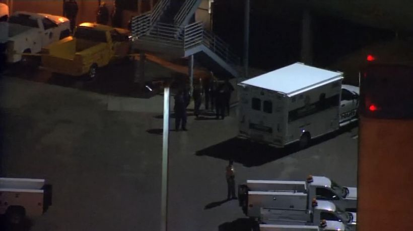 Vegas police shoot, wound airport tarmac intruder