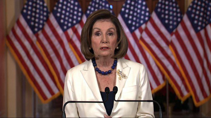 Pelosi OKs drafting of impeachment articles