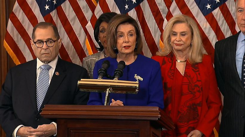 Democrats unveil articles of impeachment