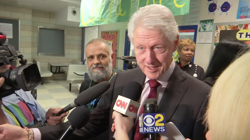 Bill Clinton: ''We should go about our lives""