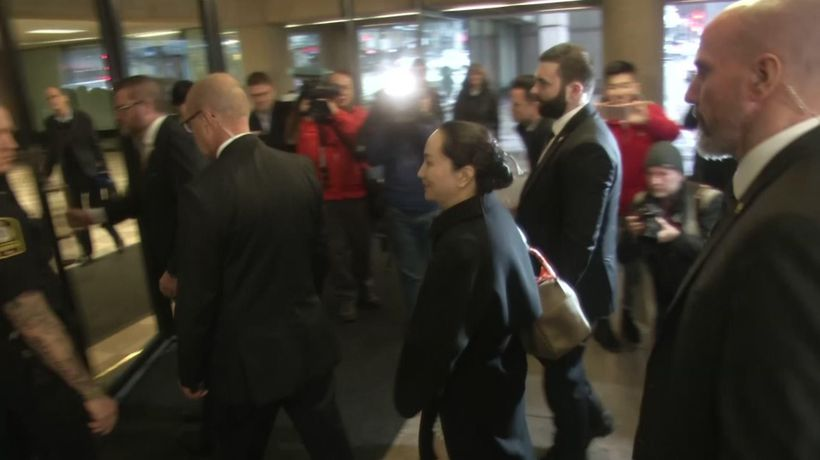1st stage of Huawei exec extradition hearing ends