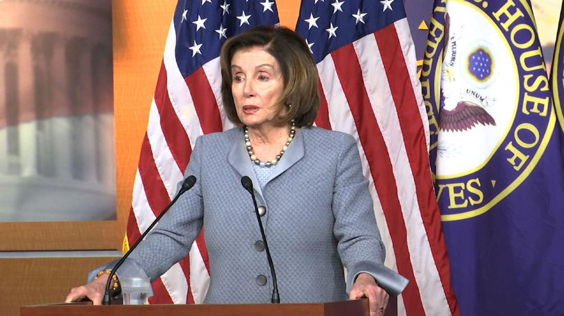 Pelosi: Can't let market affect actions on virus