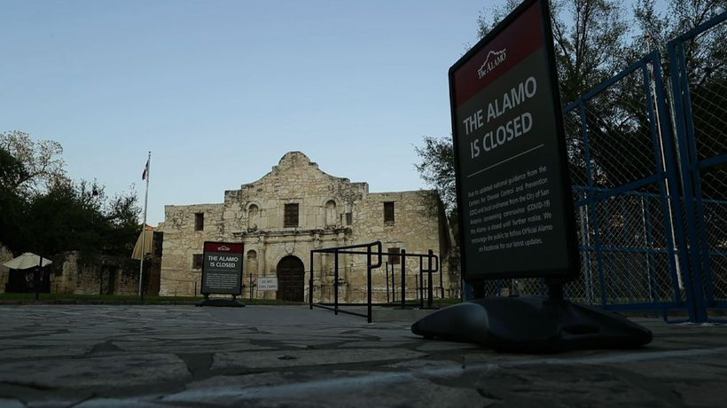 Idle Alamo isn't being remembered much these days