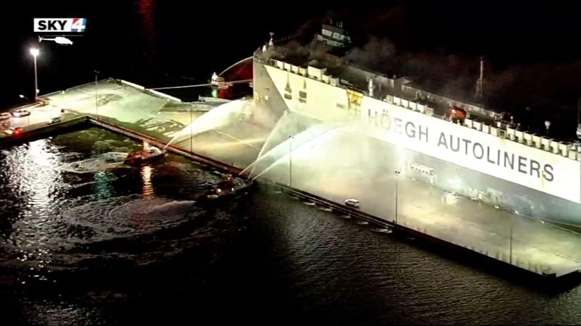 Florida ship explosion: 9 firefighters in hospital
