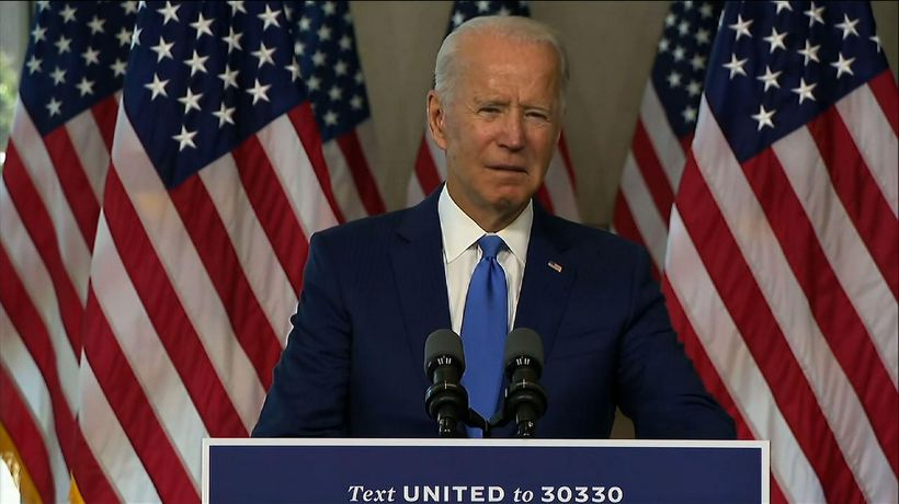 Biden asks Republicans to 'follow your conscience'