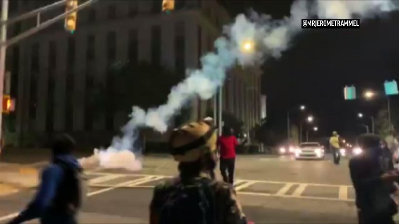 Police: Chemical agents used at Atlanta protest
