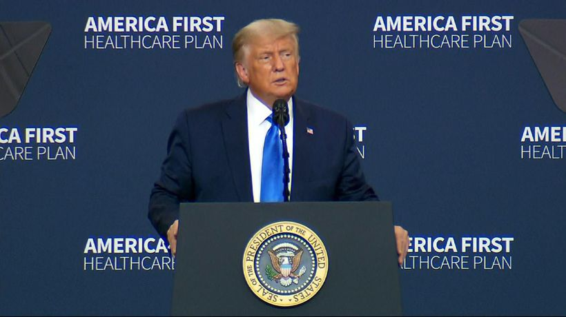 Trump pledges 'to protect' preexisting conditions