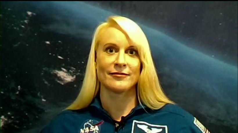 NASA astronaut plans to cast her ballot from space