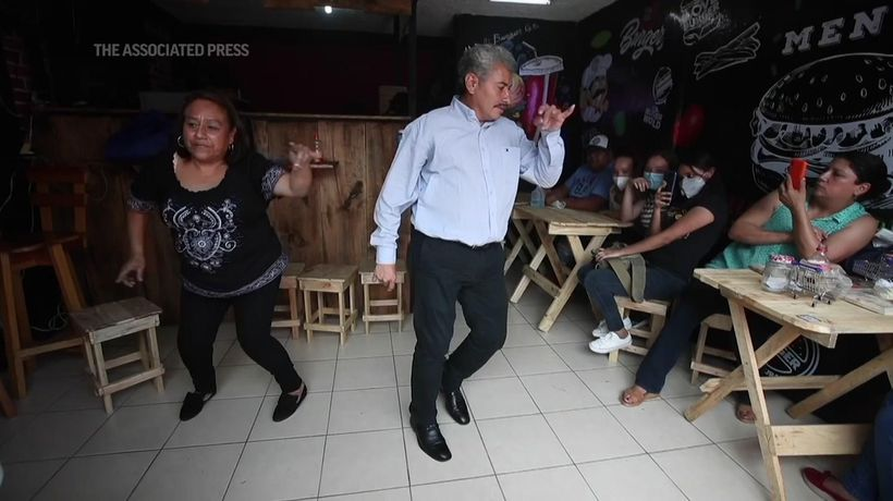 Guatemalan couple find healing in dance
