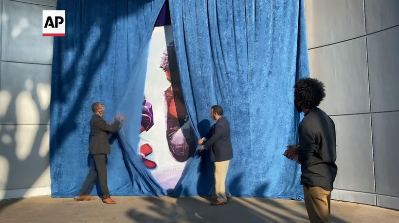 Mural honoring Chadwick Boseman unveiled at Disney