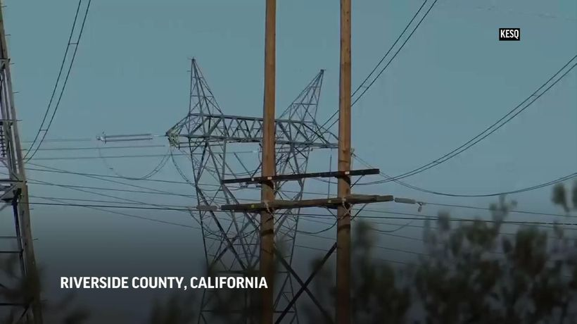 Fire danger, possible blackouts in Southern Calif.