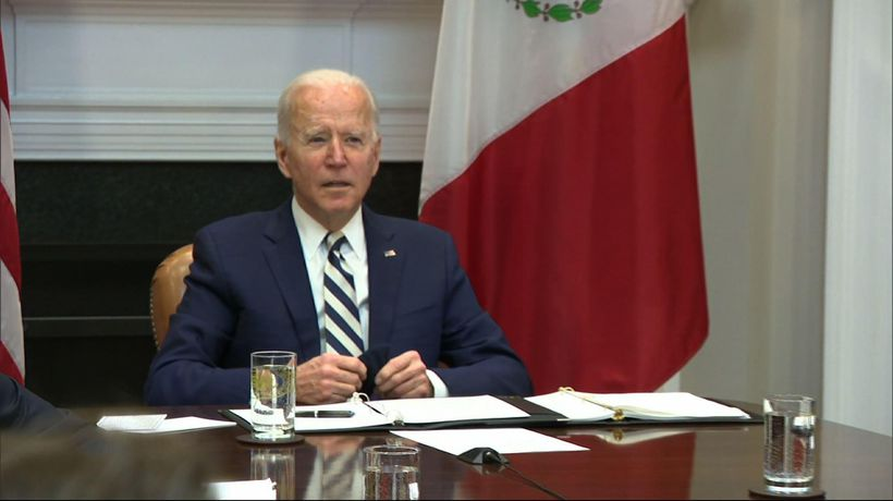 US, Mexican presidents meet amid migration issues