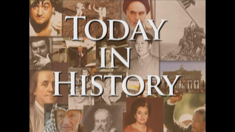 Today in History for February 25th