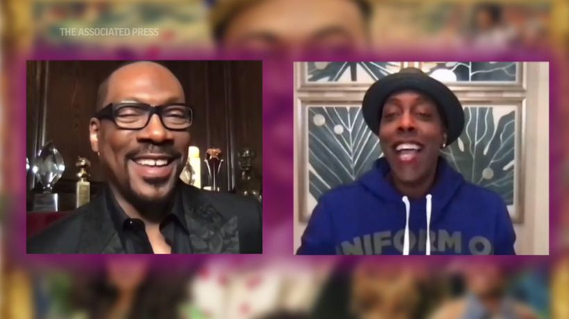 Eddie Murphy, Arsenio Hall together again in 'Coming 2 America'