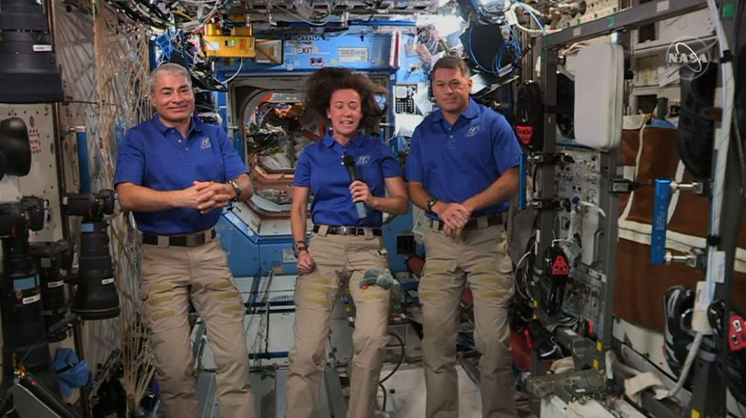 Astronauts excited about growing space tourism
