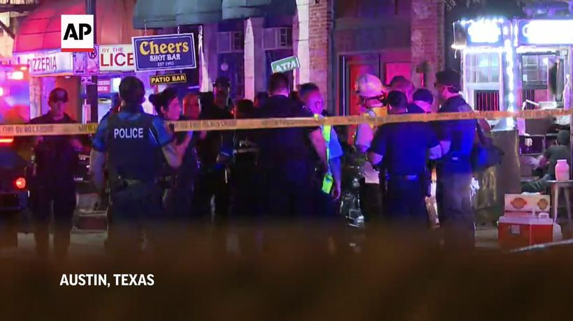 Police: Attacker wounds 13 in Austin shooting