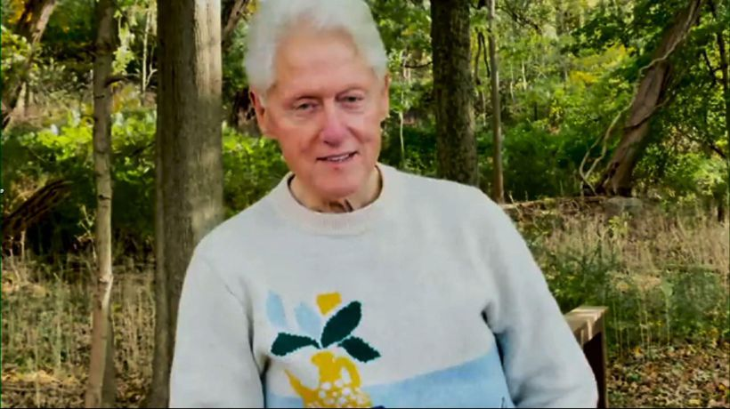 Bill Clinton: 'I'm on the road to recovery'