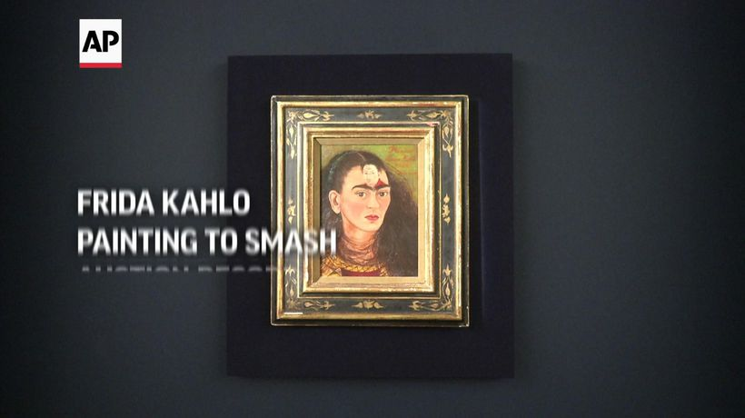 Frida Kahlo painting expected to smash auction record