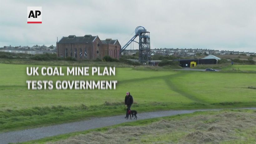 UK coal mine plan tests government ahead of COP26