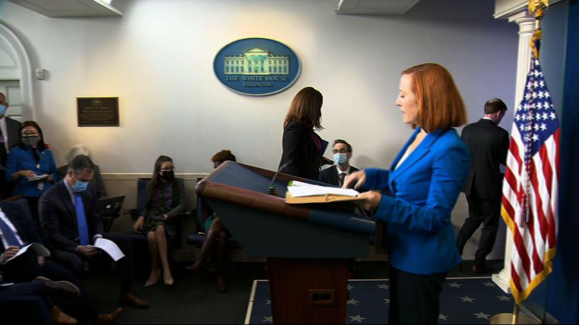 Psaki: 'Almost there,' on budget, climate deals