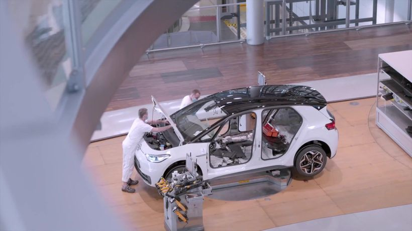 Start of production of the Volkswagen ID.3