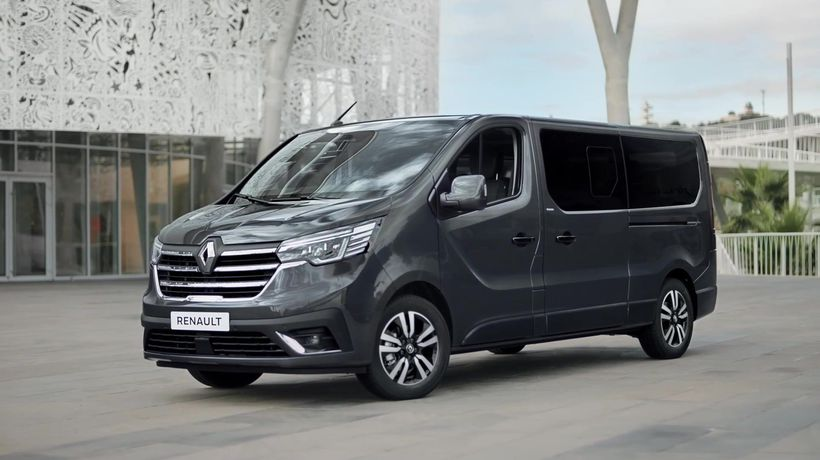 2021 All-New Renault Trafic Spaceclass Design