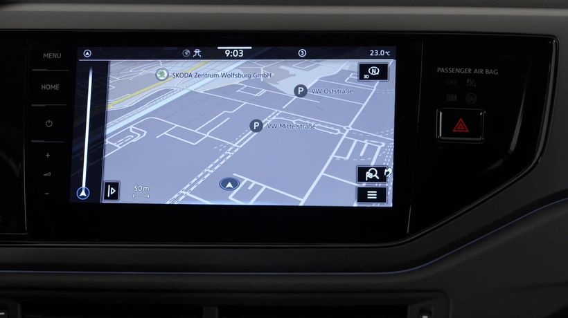 The new Volkswagen Polo Infotainment System
