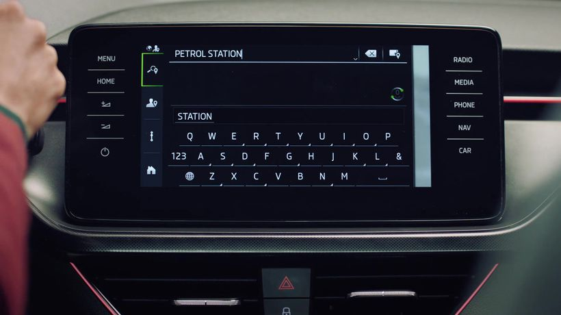 Skoda Connect - Petrol Stations