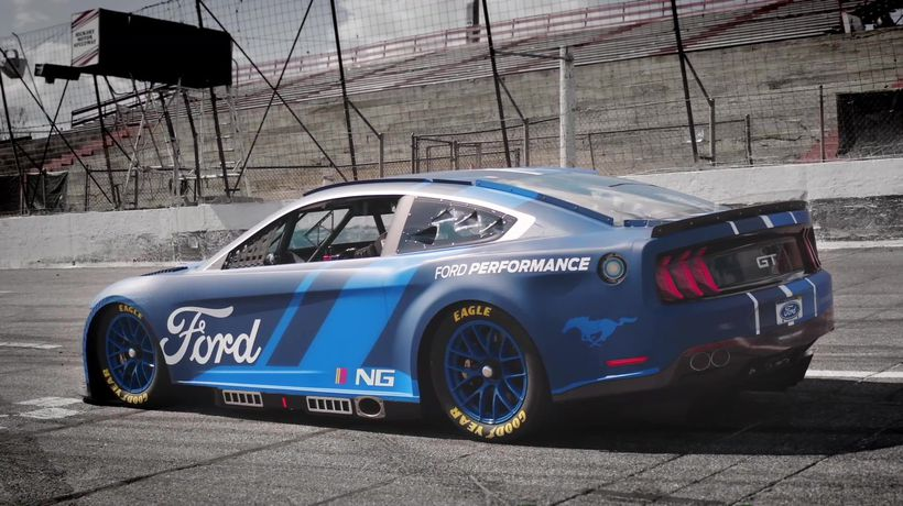 2022 Next Gen Mustang Poised to Help Drive NASCAR Cup Series into the Future with All-New Technology