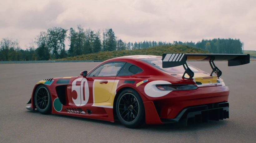 Mercedes-AMG celebrating its anniversary in the Spa-Francorchamps 24-hour race with three exclusive