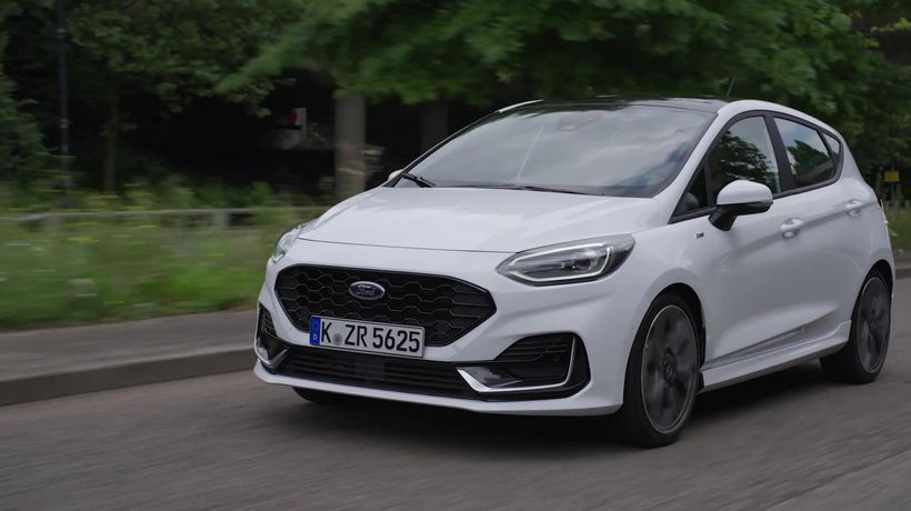 2021 Ford Fiesta ST-Line Driving Video