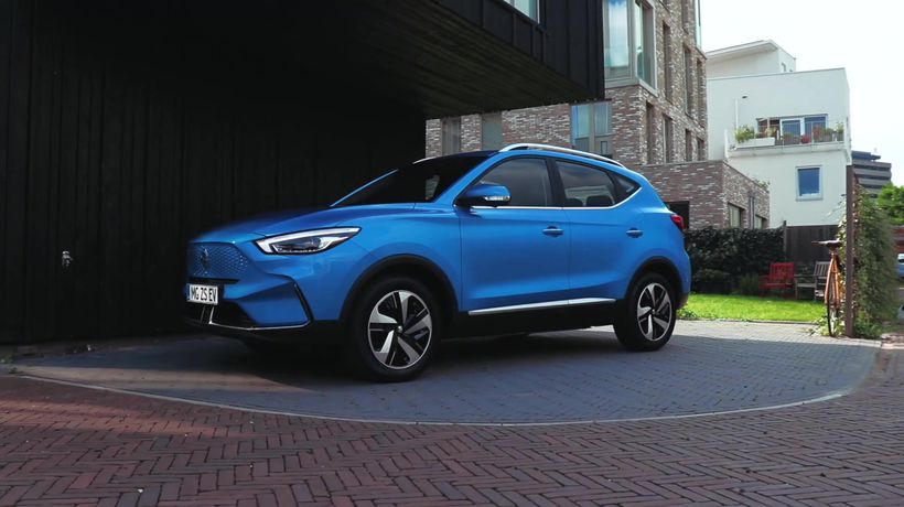 The new MG ZS EV Design Preview