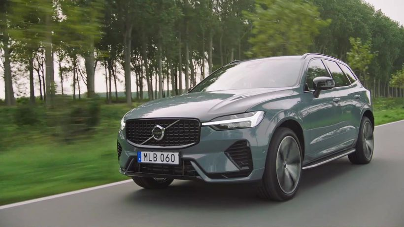 The new Volvo XC60 Driving Video