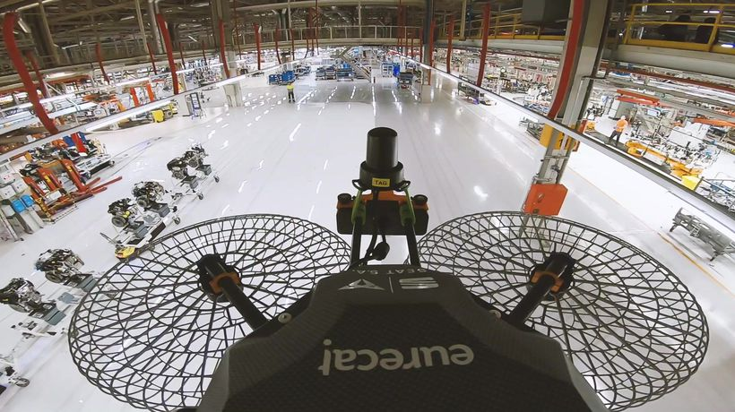 Seat - Drones in the factory of the future