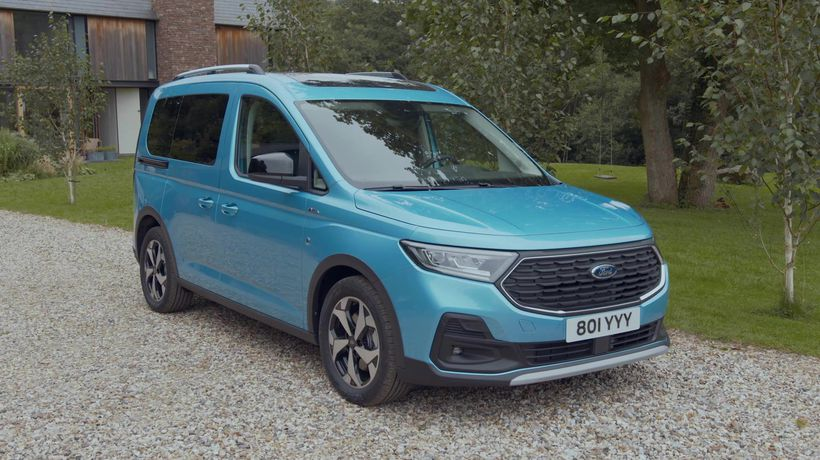 The new Ford Tourneo Connect Active Design Preview